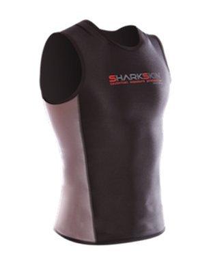 Sharkskin Men's Chillproof Vest Scuba Diving Exposure Garment for Scuba Diving, Surfing, Etc (Medium)