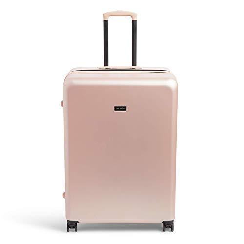 Vera Bradley Women's Hardside Rolling Suitcase Luggage, Enchanting Rose, 29' Check In