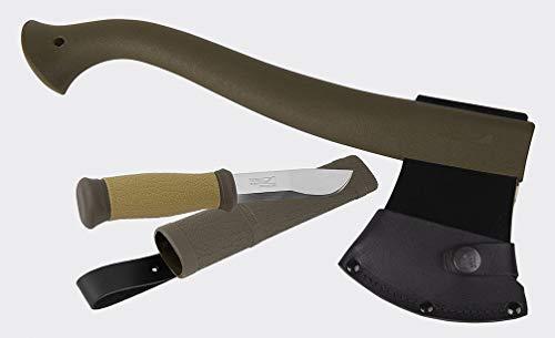 Axe & Knife Set Mora of Sweden® Morakniv® Hunting Set MG - Olive