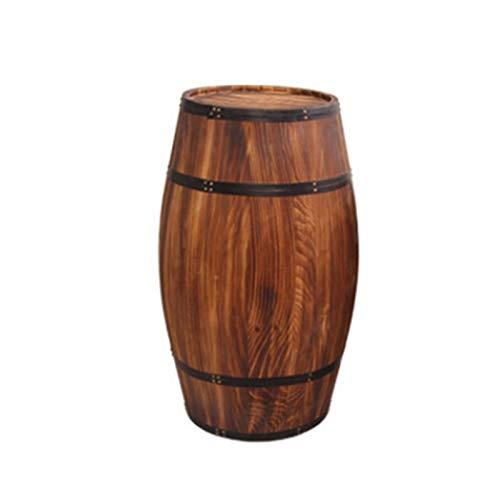 Distributeur de vin en chêne Vintage Barrel-Vintage pour Le Stockage de spiritueux de bière de vin, Baril de chêne décoratif, tonneau de vin, Bois Massif, Cave à vin en Bois, Texture en Bois Massif