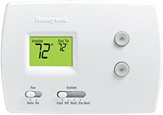 Honeywell RTH3100C1002/E1 Digital Heat/Cool Pump Thermostats