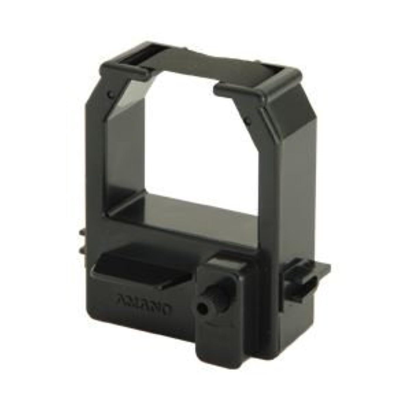 真鍮地域のアトムアマノ 電子タイムレコーダー専用インクリボン ブラック 型番:CE320050