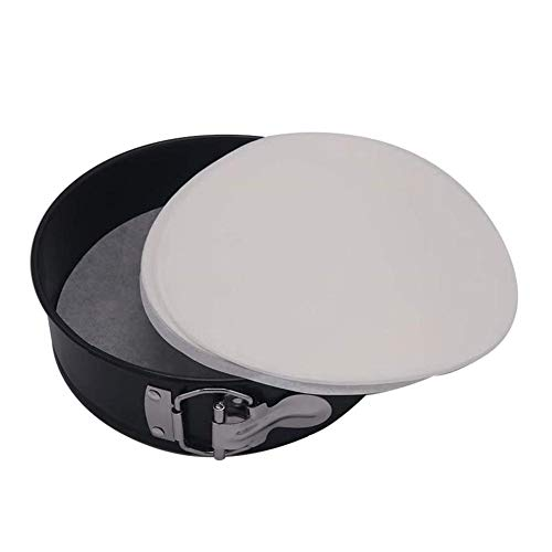 100 PCS Baking Parchment Paper Round, Round Cake Pan Liners and Parchment Pan Liners Round Cake Pan, Non-Stick Round Parchment Paper Diameter Round Baking Paper Liners for Cake Pans 7 Inch 8 Inch 9