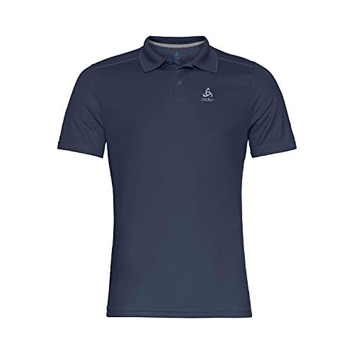 Odlo Herren Polo shirt s/s F-DRY, diving navy, L