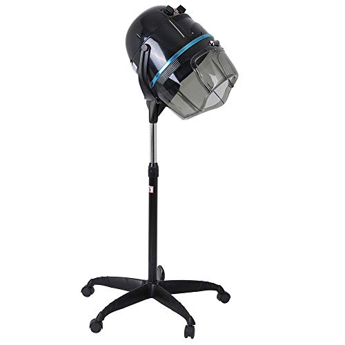 Secador de pelo con soporte y ruedas omnidireccionales, 1000 W, UE 220-240...
