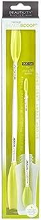 BEAUTISCOOP Duo Set Crisp White/Green Dual-Scoop Beauty Tool (8