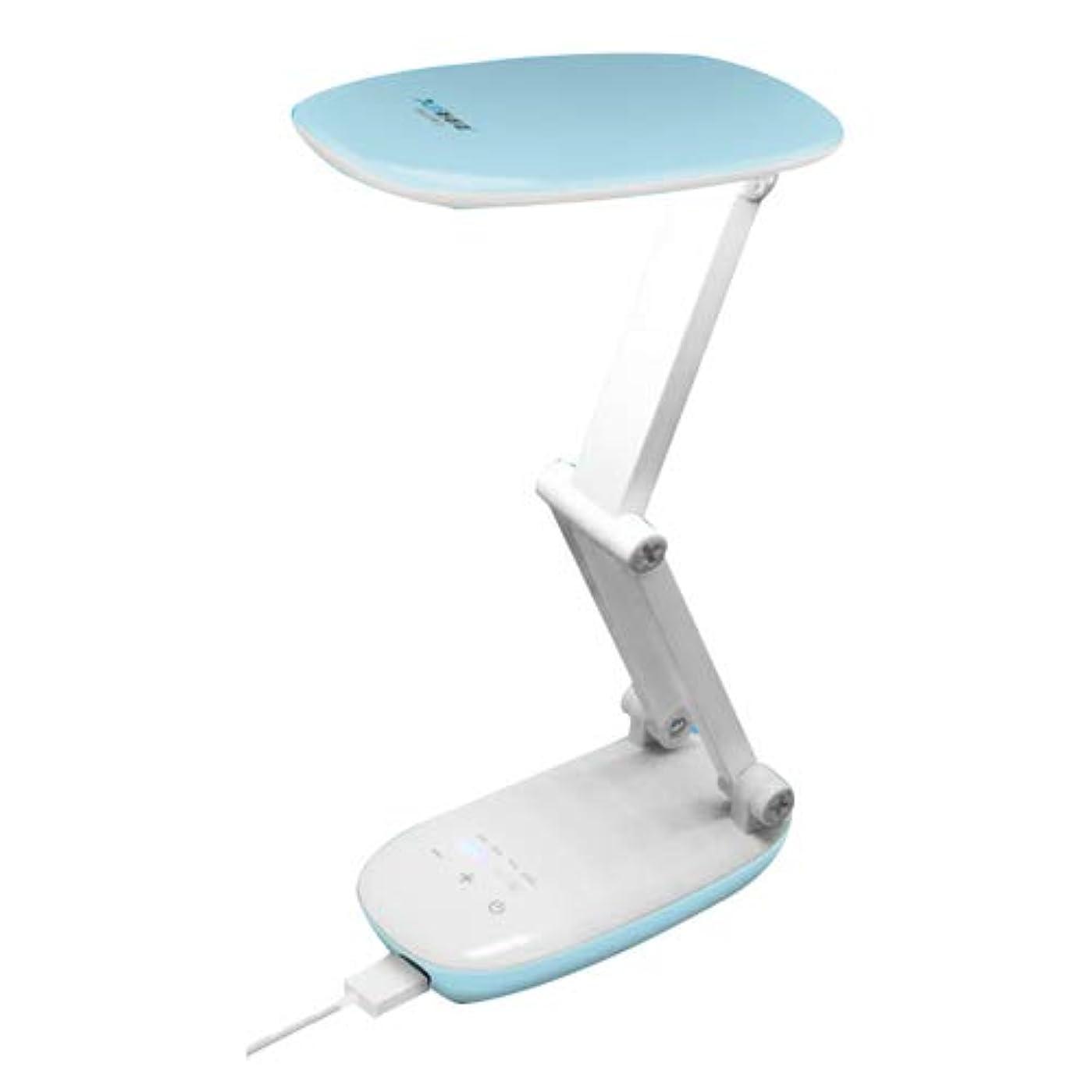 フラグラント明確なかるDJL 4つの輝度レベル、メモリ機能、ポートを充電USBでNWLAMP折り畳み式ベッドサイドテーブルランプは、アップグレードのEye-思いやりは、ベッドルームの研究のためのデスクランプ、電源銀行とのナイトランプ、読書LEDライト
