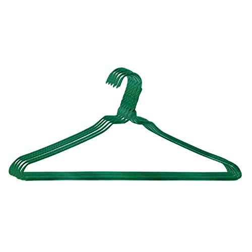 オリタニ 針金ハンガー 40センチ幅 25本セット グリーン 緑 クリーニング屋 洗濯