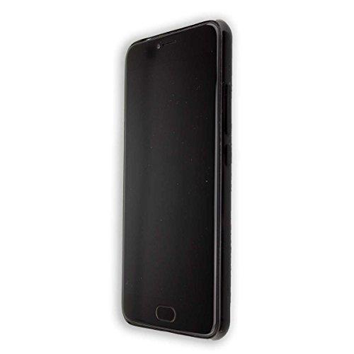 caseroxx TPU-Case and Tempered Foil for UMi Z/Z Pro, Set (TPU-Case in Black)