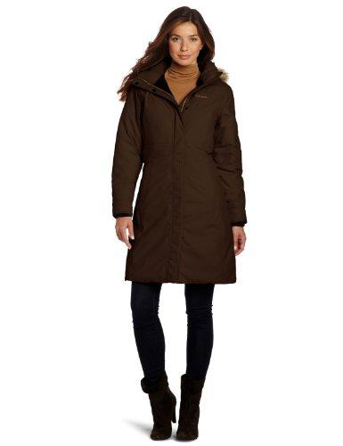 Marmot Damen Daunenmantel Chelsea, dark brown,2(XS), 77670-7521-2