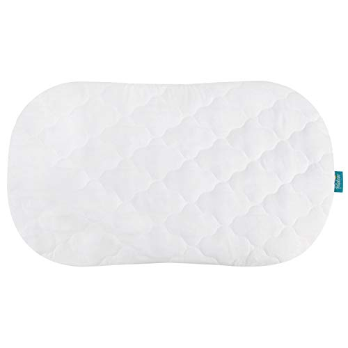 Biloban Bassinet Mattress Cover Compatible with Halo Bassinest Swivel Sleeper Bassinet Mattress Pad, Microfiber, Waterproof and Soft