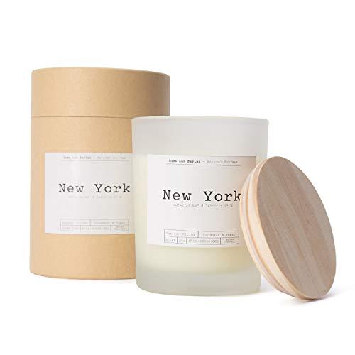 Lumaland Luma Lab Vela Perfumada City - New York - Recuerdos de tu Lugar Favorito en casa - 100% Cera de Soja - Vegana, sostenible y Elegante