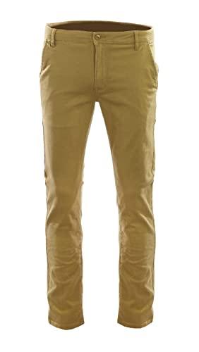 Access Boy's School Uniform Stretch Pants (Dark Khaki, 16)