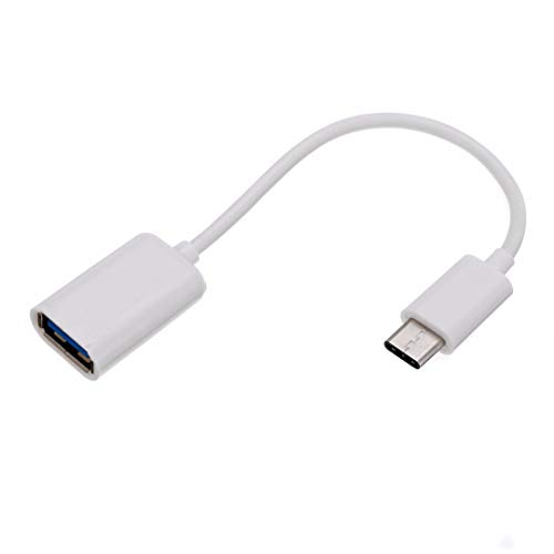 YIHUA USB Type C to USB 3.1 USB C to USB Adapter OTG Cable Thunderbolt 3 to USB Adapter Compatible with MacBook Pro/Air 2019 2018 2017, Samsung Galaxy S20 S20 + OnePlus 7T