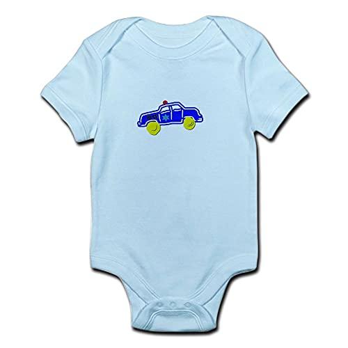 ABADI Body de bebé de coche de policía