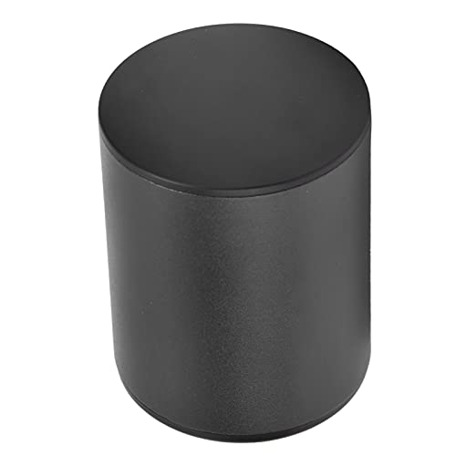 KUIDAMOS Tapón de Botella de Vino, Protector de Vino de Materiales de Grado alimenticio con una Carcasa de Metal para Guardar el Vino(Negro)