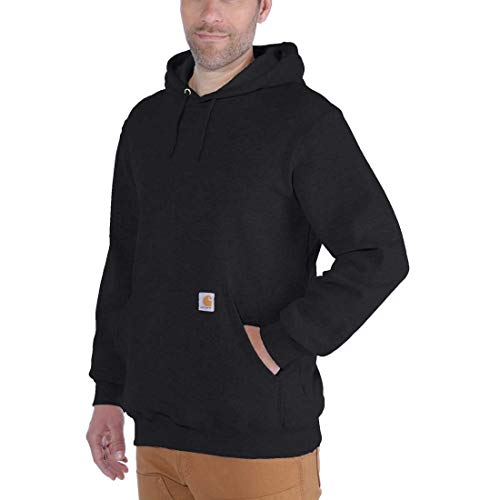 Carhartt Workwear K121 Kapuzenpullover Hooded Sweater Original Fit - Schwarz - Small