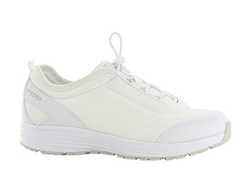 Oxypas Maud Damen Arbeits- und Sicherheitsschuhe | Sneaker, Farbe: weiß, Größe: 39
