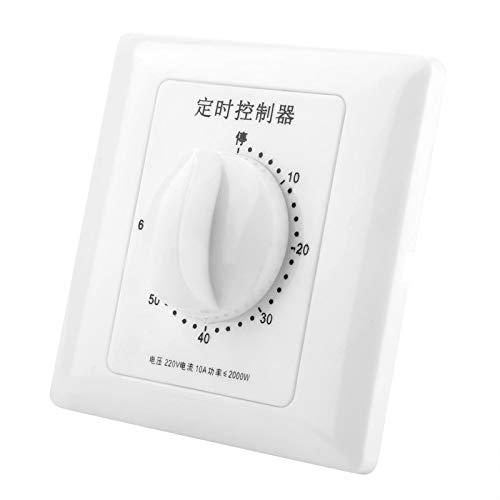 Omabeta Intelligente Zeitschaltersteuerung Zeitschaltersteuerung Mechanischer Pumpen-Countdown(60 Minutes Timer Switch)