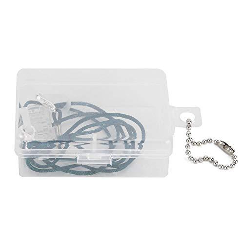Yctze Hörgeräteseil, Hörgeräteseil Anti-Lost Clip Clamp Protector Halter Schallverstärker Ohrgeräte Zubehör
