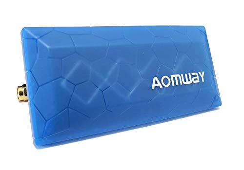 Aomway High Gain 13db RHCP FPV Directional Antenna Panel Patch Antenna for FPV Receiver Goggle Monitor Skyzone 02s SKY03 eachine ev800d EV200D EV100 VR006 FatShark HDO HD3 Aomway Commander (SMA)