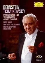 Boris Belkin New York Philharmonic Orchestra Boston Symphony Orchestra Leonard Bernstein-Tchaikovsky: Symphony In F Minor, Op. 36; Symphony In E Minor, Op. 64; Violin Concerto In D Major, Op. 35