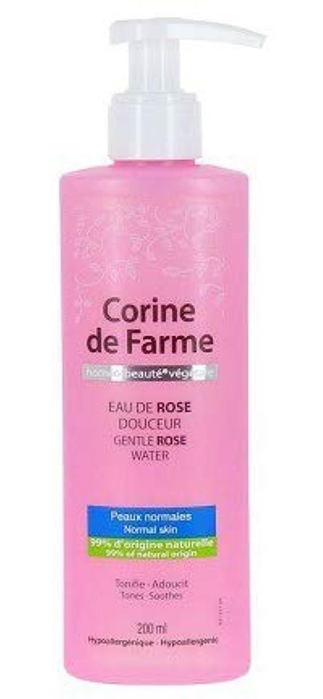そうリテラシー中世のCorine de Farme 穏やかに水200ミリリットルをバラ