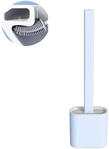 JOMOSIN MTS0226 con Base de Drenaje Sin ángulo Muerto Cepillo de Limpieza Hogar para el hogar Herramientas de Limpieza Accesorios de baño Funcional (Color : Blue)