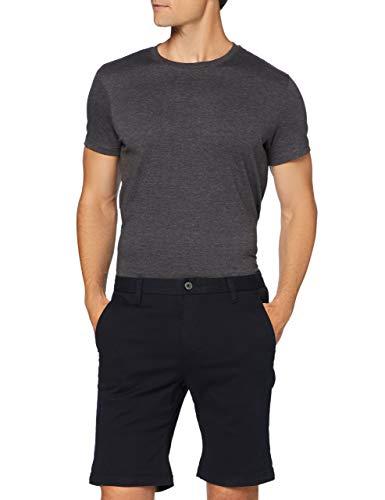Amazon-Marke: MERAKI Herren Shorts Short Classic Chino, Blau (Navy), L