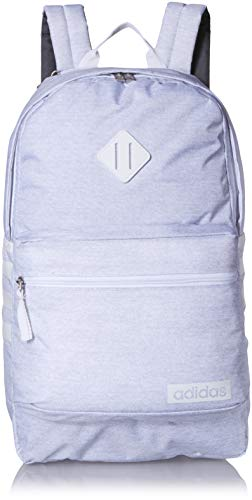 adidas Unisex Classic 3S Backpack, White Jersey/White, ONE SIZE