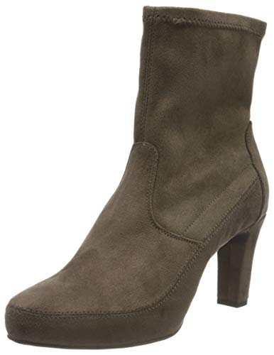 Unisa Women's Bootie Ankle Boot, Taupe, 8