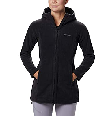Columbia Women's Plus Size Benton Springs II Long Hoodie, BLACK, 2X