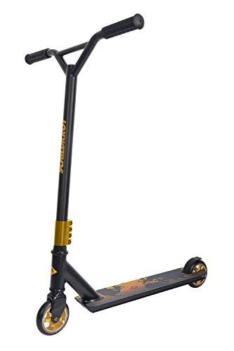 Schildkröt Stunt Scooter Untwist, Design: Fire, wertiger Stunt Scooter mit Alu-Felge, 100 mm PU Räder, für tolle Tricks und Stunts, 510461