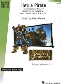 HE'S A PIRATE (AUS PIRATES OF THE CARIBBEAN) - arrangiert für Klavier [Noten / Sheetmusic] Komponist: BADELT KLAUS aus der Reihe: HAL LEONARD STUDENT PIANO LIBRARY