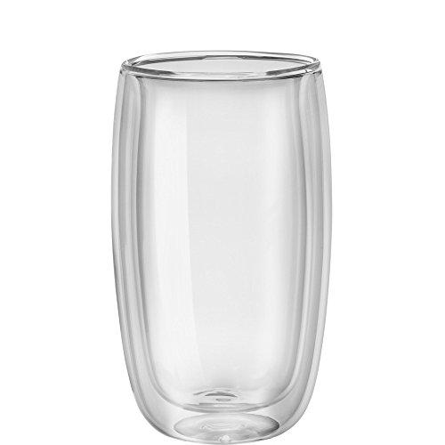 ZWILLING J.A. Henckels Zwilling ja Henckels Sorrento Latte Glas, Glas, 2-teilig, 2,3 kg