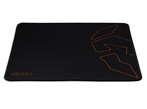 KROM Knout Speed - NXKROMKNTSPD - Alfombrilla Gaming, Color Negro