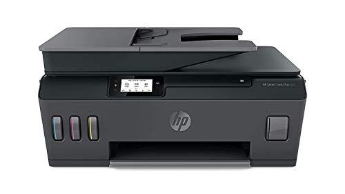 HP Smart Tank Plus 655 Stampante Multifunzione con Serbatoio a Getto di Inchiostro, Scanner, Fotocopiatrice, Fax, ADF, Velocità 11 ppm Nero e 5 ppm Colori, Wi-Fi, Wi-Fi Direct, App HP Smart, USB, Nero