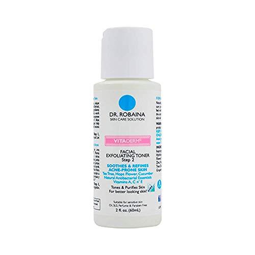 Dr. Robaina Skin Care Solution VITADERM Exfoliating Toner Step 2 Eliminate...