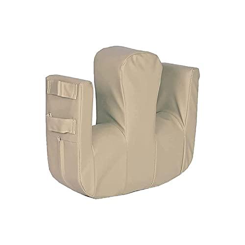 Almohada de rodilla Cinturón de seguridad para sillas de ruedas, herramienta de transferencia para torneado y reposicionamiento de pacientes, almohadilla de cama de transferencia médica,