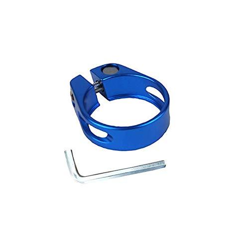 Azul M8x55 mm carbonenmy m/ás Color 2/ST Bicicleta de Cierre r/ápido Quick Release Abrazadera de sill/ín M8/x 55/mm