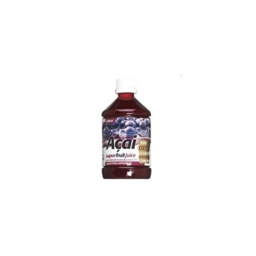 Preisvergleich Produktbild Acai Juice with Oxy3 (500ml) - x 2 *Twin DEAL Pack* by Optima Health