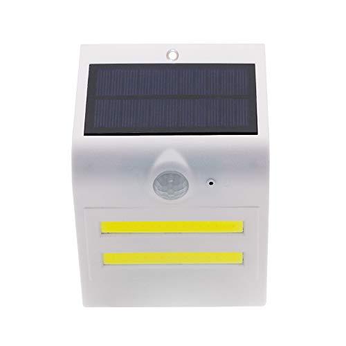 TIAS Lampes solaires d'extérieur avec détecteur de mouvement - Lampes de sécurité sans fil - 200 lumens - Étanches - Lampes solaires pour marches et cours.