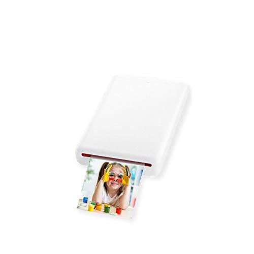 Foto Printer Draagbare Polaroid Foto Papier Bluetooth Pocket Printer Draagbare Mobiele Telefoon Printer (Gratis 30 Vellen van het Drukpapier geleverd)