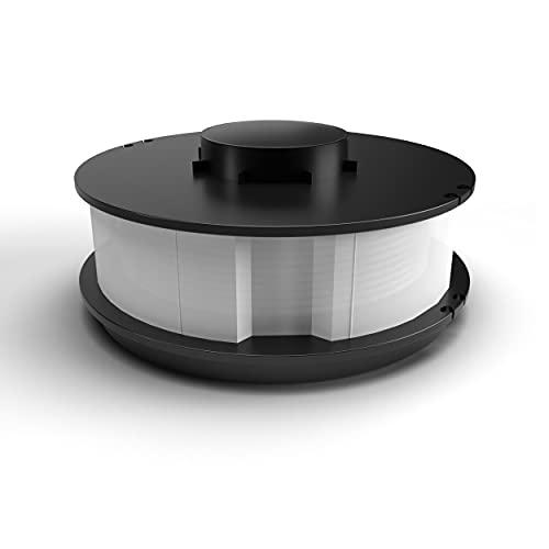 1 bobina di filo di ricambio a doppia bobina di filo compatibile con i modelli di decespugliatore King Craft TopCraft Gardenline GLR 450 451 452 453 Einhell RTV 550/1