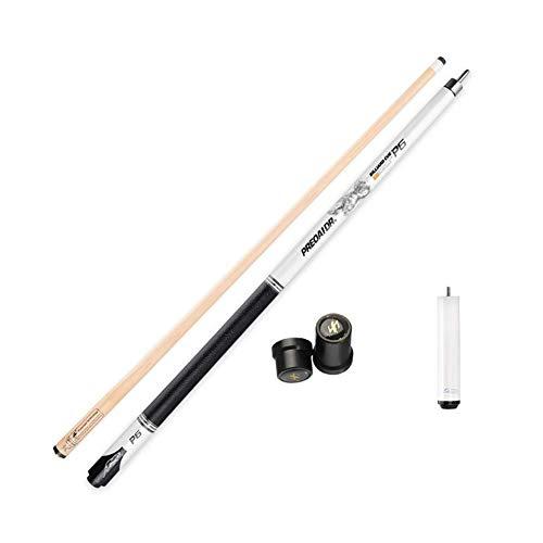 YRU 1/2 Stuck Billard Queue, 147CM Handgefertigte Carbon + Maple Shaft Professionelle Billard Pool Cue Stick 19-20 OZ(Size:13MM,Color:A-Erweiterung)