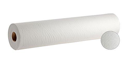Rollo cubre camilla microencolado precortado doble capa, 3 unidades