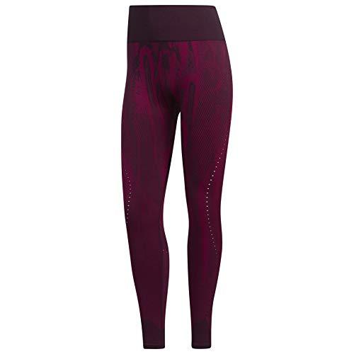 adidas Mallas Believe This Primeknit para mujer - IPI23, Believe This Primeknit Mallas, XL, Púrpura Noble