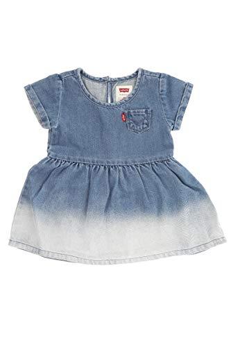 Levi's Kids SHORT SLEEVE DENIM DRESS C693 Vestido Milestone para Bebé-Niñas