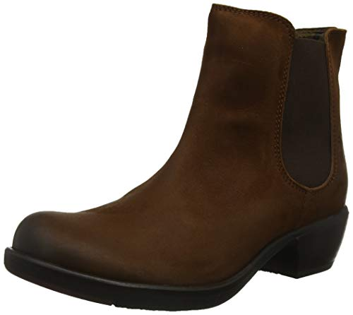 Fly London Damen MAKE Chelsea Boots, Braun (COGNAC 035), 36 EU