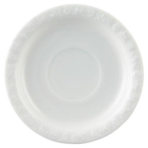 Rosenthal 10430-800001-14741 Maria Kaffee-Untertasse 14 cm, weiß